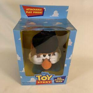 "1996 Disney Hasbro TOY STORY MR. POTATO HEAD 9"" Plush Toy -New In Sealed Box"