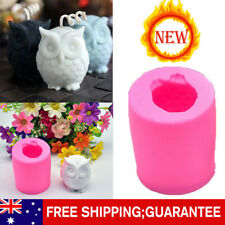 3D Owl Soap Mould Resin/Candles/Melts, crafts, Silicone New Hand Crafted Mold