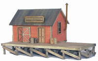BANTA 2082 HERBERT'S CROSSING FREIGHT HOUSE Model Railroad Wood Kit FREE SHIP