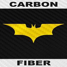 Carbon Fiber Batman Sticker Buy 1 Get 1 Free Batman Decal Bogo