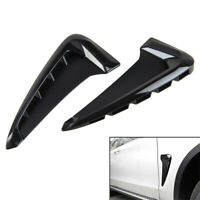 Car Auto Gloss Black Side Body Marker Fender Air wing Vent Trim M For   X5 F15