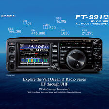 YAESU FT-991A, 100 Watt HF/VHF/UHF, TUNER, Digital, UNBLOCKED Ham Bands, PMR446