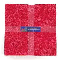 """Prism 10"""" Squares Layer Cake by Laurel Burch for Clothworks"""