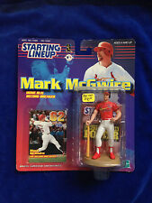 Mark Mcgwire - RARE BLUE HAT - 1999 MLB Baseball Starting Lineup action figure