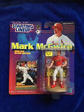 Mark Mcgwire - RARE BLUE HAT - 1999 MLB Baseball Starting Lineup action figure