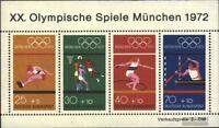 BRD (BR.Deutschland) Block8 (kompl.Ausgabe) postfrisch 1972 Olympiade
