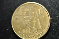 RELAX GOD IS IN CHARGE SERENITY PRAYER TOKEN!   CC363XTT