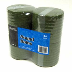 4 Pack of 1/16th Round Hay Bales Straw by ERTL TOMY ZFN13189 13189