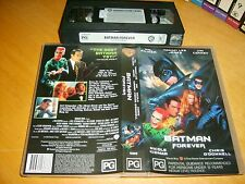 Vhs* Batman Forever * 1995 Warner Home Video Issue Cult Classic Action Adventure