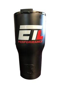 Black ETL Performance 20 OZ. RTIC Tumbler