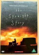 The Straight Story DVD 1999 David Lynch Old Man Tractor Road Movie Classic
