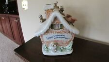 Rare~Vintage Louisville Stoneware Christmas Cookie Jar~ Extremely Rare ~1992~