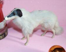 "❤️c1900 chien Levrier fourrure 20 cm  FUR 8"" BORZOI dog / hund/ doll companion"