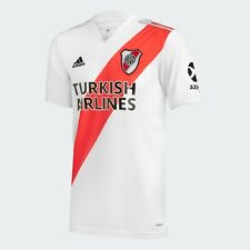 NEW River Plate 2020-2021 Home Soccer Jersey Aeroready Adidas