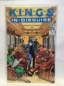 Kings In Disguise #5 VF+ 1st Print Kitchen Sink Comix