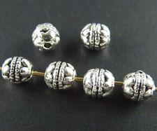 200pcs Tibetan Silver Bail Style Spacer Beads 6x6mm 414
