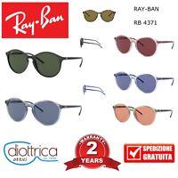 RAY BAN RAYBAN OCCHIALE DA SOLE OCCHIALI UOMO DONNA ROTONDI RB 4371 COLORATI
