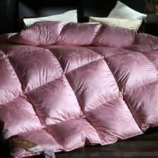 2020 goose down duvet jacquard quilt winter thick plaid extra large full size