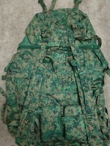 Singapore SAF Field Pack Digital Camo Expandable Rucksack Issued Equipment