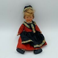 Vintage ARI Germany Plastic Celluloid Vintage Doll Marked 1014 Jointed