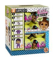 LOL SURPRISE DOLLS ~~ BOYS SERIES 3 ~~ FULL CASE of 12 / box BOY FAST POST