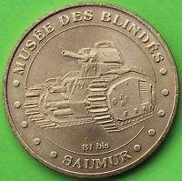JETON MDP MUSÉE DES BLINDES SAUMUR 2005