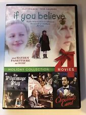 If You Believe, The Pilgrimage Play, A Christmas Carol.. (DVD, 4-film) - XMAS20N