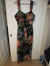 GRACE HILL FLORAL MAXI DRESS  (SIZE 20)