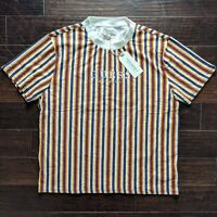 Guess Original Los Angeles Stripes Embroidered Shirt Mens Size XL NWT NEW