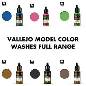 Vallejo Game Color Washes Full Colour Range