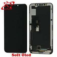 For iPhone X Soft OLED Display LCD Touch Screen Digitizer Assembly Replacement