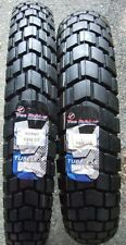 Vee Rubber VRM163 Dual Sport Tires KLR650 KLR 650 130/80-17 90/90-21 PAIR NEW