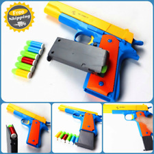 Nerf Toy Gun Pistol Classic m1911 Kids Sniper Strike Dart Guns Soft Bullet Cheap