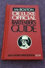 Vintage Mr. Boston Deluxe Official Bartender's Guide