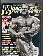 MUSCULAR DEVELOPMENT Bodybuilding Magazine/Jay Cutler/Trish Warren 11-08
