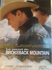 DVD *** LE SECRET DE BROKEBACK MOUNTAIN  *** sous cello