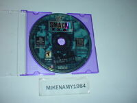 WWF SMACKDOWN wrestling game only in plain case for Sony Playstation 1 / PS2