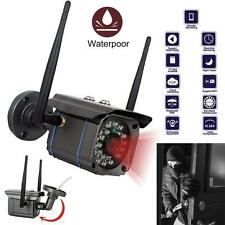 Waterproof Wireless 720P HD WiFi Outdoor IP Camera Security CCTV Night Vision U^