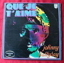 Johnny Hallyday, que je t'aime - enregistrement public, LP - 33 Tours