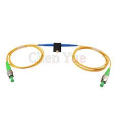 Mechanical Variable Adustable Optical FC/APC SM Simplex Fiber Attenuator 0-60dB