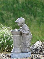"""LED  Wasserspiel """"Junge"""" beleuchtet (WASSERSPIEL JUNGE 123492J) Gartenbrunnen"""