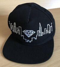 Diamond Supply RARO Skyline Gorra de Béisbol Negra Co para hombre Sombrero Gorra Patineta
