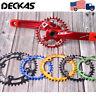 DECKAS 104bcd 32-52T Narrow Wide Aluminum Crankset Mountain Bike Crank Chainring