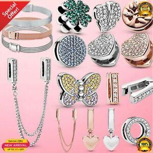 Femme Reflexion Bracelet 925 Sterling Silver Women Silver Bracelet for Women Cha