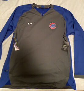 Nike Chicago Cubs Authentic Collection Therma Pullover NKA6-175N XL MSRP $90