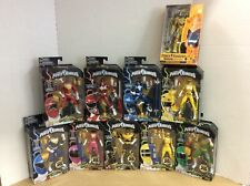 Lot of 10 Power Rangers - Build a Zeo Megazord - Limited Edition - Exclusive
