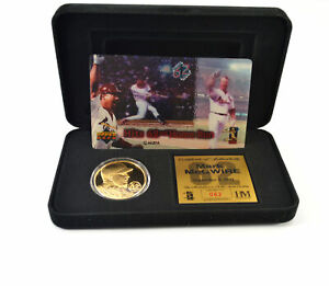Highland Mint Mark McGwire Gold Coin & Motion Card Set # out of 400