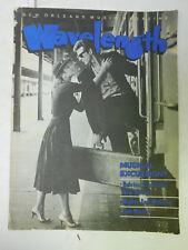 Wavelength - New Orleans Music Magazine - June 1983 - Bob Marley, Al Ferrier