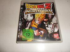 PlayStation 3  Dragonball Z - Burst Limit