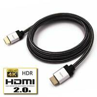 HDMI 2.0  4K 6FT Braid UHD 18GBPs Ultra HD 60Hz HDR Ethernet 2160p 3D PS4 Cable